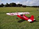 Comper Swift with folding wings and homebuilt engine