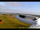 Aerotow from on-wing camera